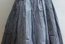 cute apron skirtdress