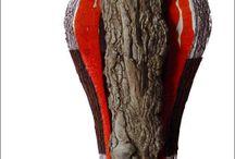 Keramik auf Schwemmholz / Aus dem Wasser oder Wald, driftwood, ceramic, water, Treibholz