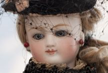Antique to vintage dolls / Some out of my collection, a lot from all over.  / by Carol Eaton Walsh