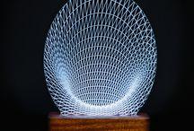 Designs / Pretty Smart Lamp Lasered Designs
