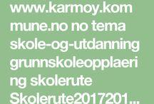 Skolerute Karmøy 2017 - 2018