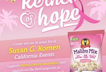 Gaslamp's Kernel of Hope / October is Breast Cancer Awareness Month and we are advocating for both awareness and research in a big way. Join us as we #RaceForTheCure across California for Susan G. Komen and those affected by breast cancer!