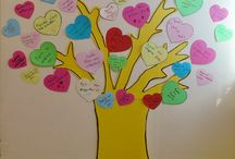 love tree  / we love all the people! the tree of love made by my students
