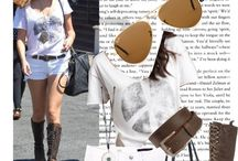 Celebrity street style / Inspiration for your daily style