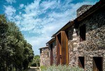 Villa CP : An Old Catalan Farmhouse Villa Restoration Design Idea by ZEST Architecture