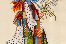 KIDS-CHILDREN* EMBROIDERY-CROSS STITCH
