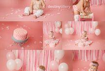 First Birthday and Cake Smash Photos
