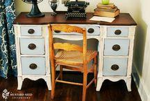 Furniture / by Lori Z. @ mudpiestudio.blogspot.com