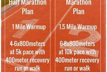 Running exercises / Exercises focusing on running.