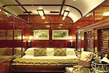 Luxury Train Interiors / by Indian Luxury Trains