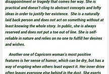 Star sign - Capricorn