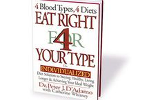 Books / by D'Adamo Personalized Nutrition/ Blood Type Diet