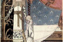 Scandinavian Fairy Tale Art