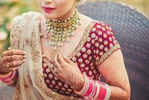 indian bride look