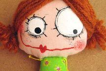 desenho boneca criança