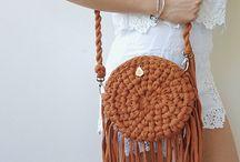 Στρογγυλή τσάντα