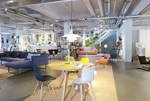 Onze winkel / Een aantal sfeer impressies van onze modern wonenwinkel in Wageningen, voorjaar 2015.