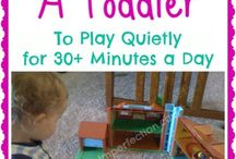 Activities for Toddlers - Quiet Time