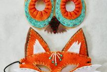 masks and hats for children