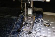 spijkerbroek opkorten