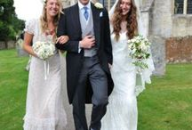 Mary-Clare & Ben - Gloucestershire / Rock star's daughter, Mary Clare Winwood in an Alice Temperley bridal gown, married Ben Elliot, founder of Quintessentially.