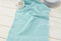 knitting - kitchen/bath/home