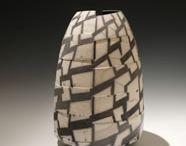 David Roberts / David Roberts is a world leader in smoke fired Raku ceramics, creating beautiful ceramic vessels.