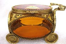 Keepers of the Flame - Adorned Jewelry Boxes / Jewelry boxes, caskets, and petite treasure chests.