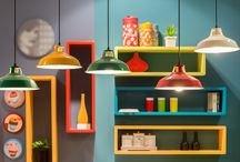 Bold Colours in the Home