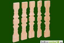 Balkonbretter / Hier finden Sie Balkonbretter aus Holz, für Neubau oder Renovierung in moderner oder rustikaler Form. Zur Auswahl stehen Balkonbretter aus den bewährten Holzarten nordische Fichte oder heimische Douglasie, die sich als gleichwertige Alternative zu Lärche am Markt durchgesetzt hat.