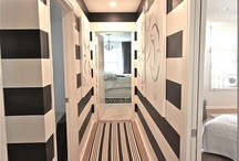 Hall way ideas / by Dovecote Decor