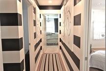 Hall way ideas / by Dovecote Decor