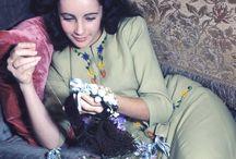 woman stitching - photography