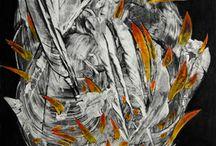 Cosas para comprar / Pintura, grabado, dibujo, fotografía, arte digital, cerámica, vídeo arte