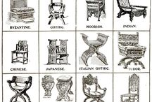 Period Furniture Stlyes / History of period furniture styles to add to your home....