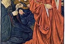 Pre Raphaelite Ruth