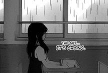 Sad&Black scene manga