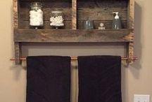 creare mobili in legno recuperato