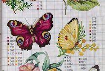 Pillangó keresztszemes