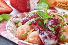 Salads, Fruity Delights & Dressings