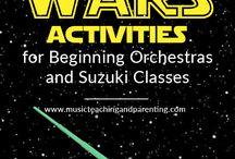 Orkester/fiolin