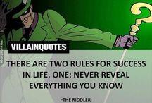 Epic villain quotes