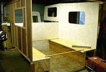 Truck camper/cap
