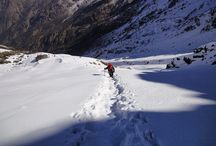 Mera Peak Climb / Mera Peak (6654m.), one of the highest peaks in Nepal is technically easy that entails little more than crampons, ice axe etc. http://www.uniquetreks.com/nepal/trekking_peaks_in_nepal/nepal_trekking_peaks.php