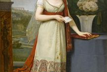 19th century: Regency sari and shawl gowns / Dresses made out of sarees and shawls