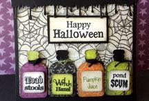 Papir til inspirasjon Halloween