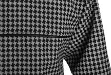 B&U Last houndstooth check coat with leather edging! / Size: 38 Price:  199 zł € 47.61  £ 37.77 Delivery cost in the EU: € 50, £ 40. Ask for anything you want before shopping via e-mail: info@patejuk.com!!!