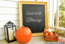 Fall Decor / All things fall for outdoor and indoor spaces!