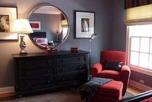 teen boy bedroom ideas / by Tamera Sanders