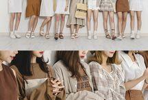 brown fashion style